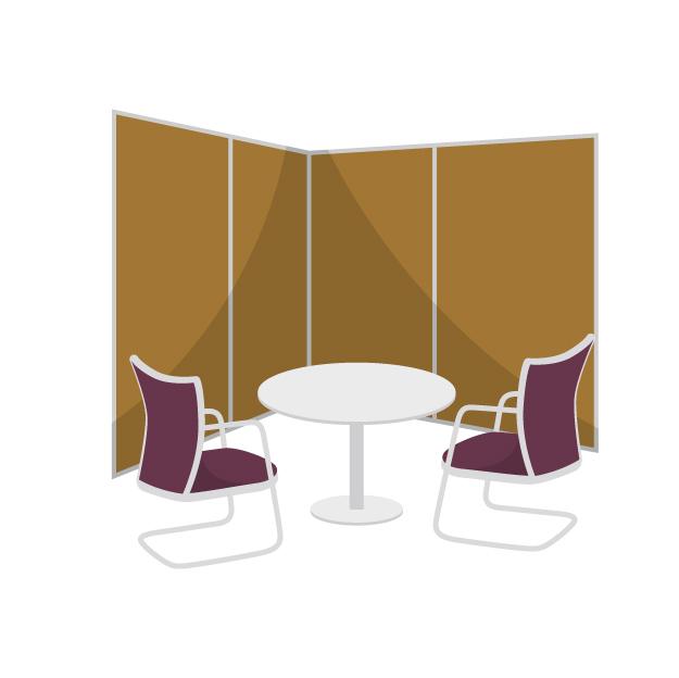 交渉テーブル